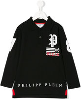 Philipp Plein Junior skull polo shirt