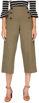 Kate Spade Cropped Military Pants Women's Clothing
