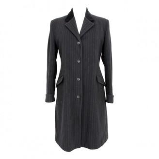 Alberto Biani Black Cashmere Coats
