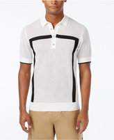 Sean John Men's Intarsia Sweater-Knit Polo, Only at Macy's