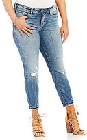 Silver Jeans Co. Plus Mazy Ankle Skinny