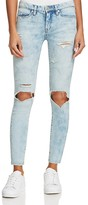 Blank NYC BLANKNYC Acid Wash Distressed Skinny Jeans in Happy Tears