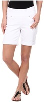 Jag Jeans Jordan Pull-On Relaxed Fit White Denim Short