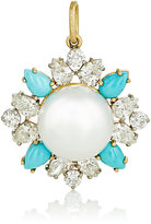 Irene Neuwirth Diamond Collection Women's Mixed-Gemstone Floral Pendant