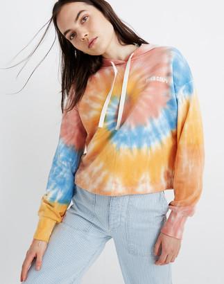 Madewell x Free & Easy Tie-Dye Hoodie Sweatshirt