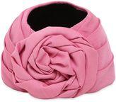 Gucci Gosan Rose Shaped Silk Blend Turban