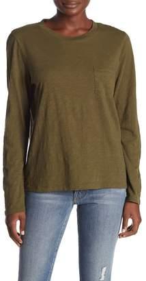 Madewell Long Sleeve Crew Neck T-Shirt (Regular & Plus)