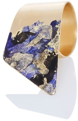 Odell Design Studio Gold Wrap Ring - Purple Haze