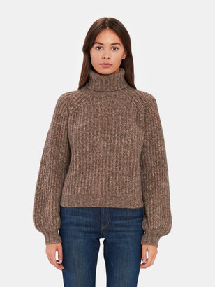 Baum und Pferdgarten Collins Oversized Knit Turtleneck Sweater