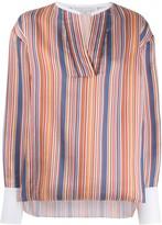 Victoria Victoria Beckham striped blouse