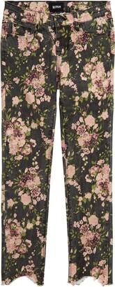 Hudson Jeans Kids Dixie Floral Print Skinny Jeans