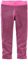 Osh Kosh Space-Dyed Cropped Yoga Pants