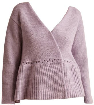 Merlette New York Seward Flounce Wrap Cardigan