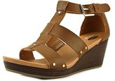 Dr. Scholl's Beyond Open Toe Leather Wedge Sandal.