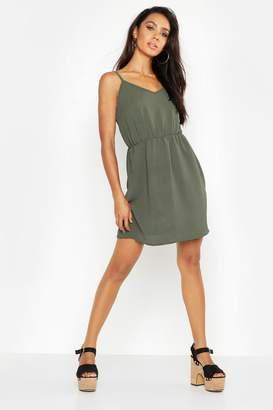 boohoo Strappy Back Dress