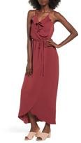 Everly Women's Ruffle Wrap Maxi Dress