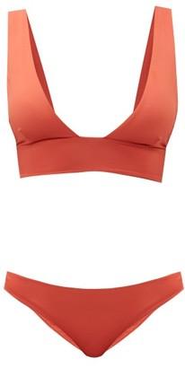 Haight Multi-strap Triangle Bikini - Orange