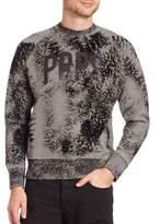 PRPS Acid-Wash Raglan Sleeve Sweatshirt