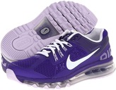 Nike Air Max 2013 (Big Kid) (Electro Purple/Purple Dynasty/White) - Footwear