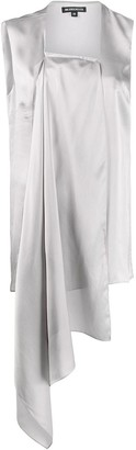 Ann Demeulemeester Rasoseta asymmetric tunic top