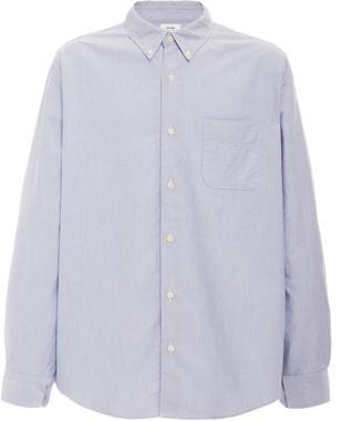 Visvim Albacore Check-Paneled Denim Shirt