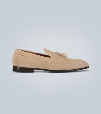 Brunello Cucinelli Suede tasseled loafers