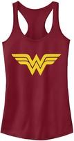 Licensed Character Juniors' DC Comics Wonder Woman Classic Logo Tank Top