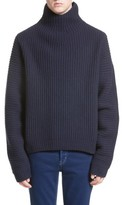 Acne Studios Men's Nalle Rib Wool Turtleneck