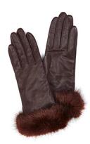 Karen Millen Fur Trim Glove