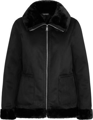 Ralph Lauren Faux-Shearling Jacket