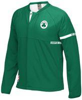 adidas Men's Boston Celtics On-Court Henley Jacket