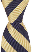 "Class Club Gold Label 14"" Victor Striped Tie"