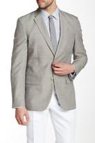 Perry Ellis Gray Two Button Notch Lapel Suit Separates Jacket