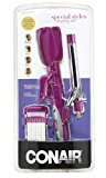 Conair Special Styles Cermaic Combo Styler - Straightening / crimping plates and 3/4-inch Curling Iron; Pink