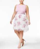 Disney Beauty and the Beast Trendy Plus Size 2-Pc. Dress