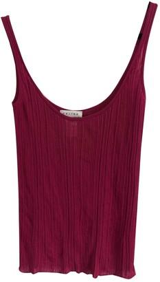 Celine Red Top for Women Vintage