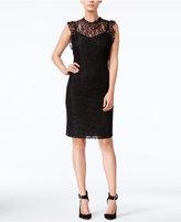 Bar III Lace Sheath Dress, Only at Macy's