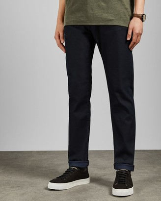 Ted Baker Straight Fit Dark Navy Jeans