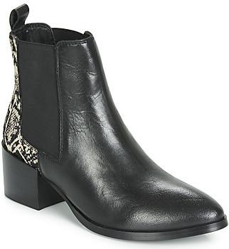 Ravel SAXMAN women's Low Ankle Boots in Black