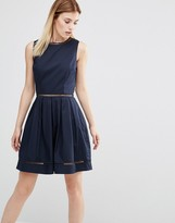 AX Paris Skater Dress With Inserts