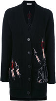 Valentino embroidered cardigan - women - Cashmere/Virgin Wool - M