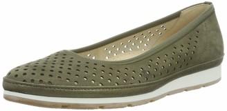 Gabor Shoes Women's Comfort Sports' Ballet Flats Green (Salvia (Silk/Gel.) 30) 8 UK