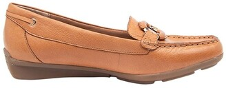 Supersoft By Diana Ferrari Leeto Flat Shoes Tan Euro Leather