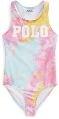 Ralph Lauren Tie-Dye One-Piece Swimsuit