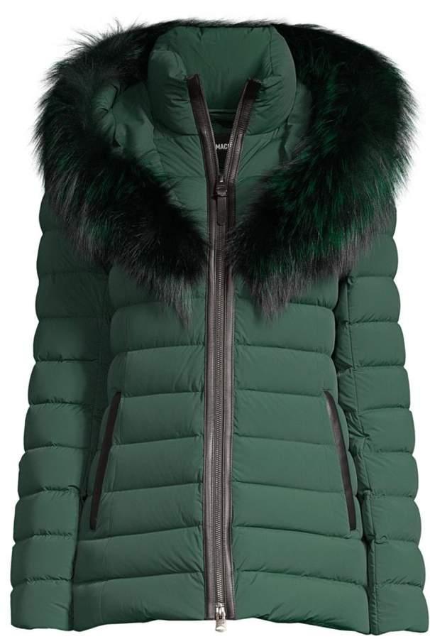 0b6870ec699 Royal Silverfox-Trimmed Down Puffer Jacket