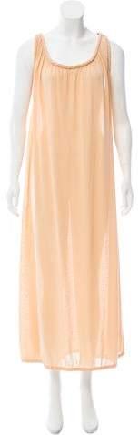Bottega Veneta Sleeveless Maxi Dress