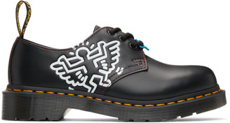 Dr. Martens Black Keith Haring Edition 1461 Derbys
