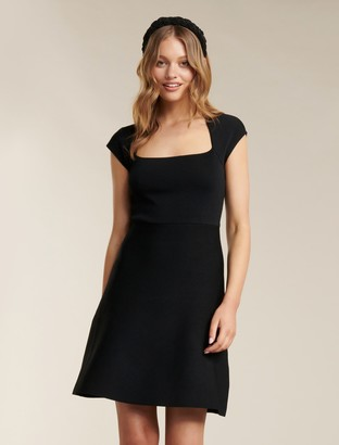Ever New Morgan Square Neck Knit Dress