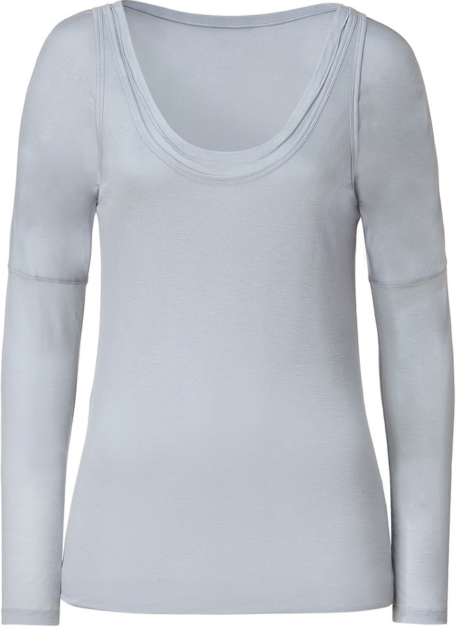 Hemisphere Grey Dawn Double Layer Top