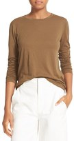 Vince Women's Cotton & Cashmere Crewneck Sweater